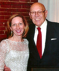 Mary Barrett Brewer with George Barrett