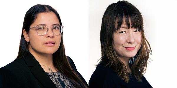 Aura Bogado and Melissa Lewis headshots